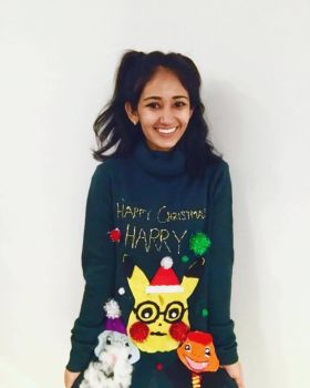Ugly christmas sweater DIY by goshilpa