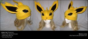 Jolteon hat 3 by Neon-Juma
