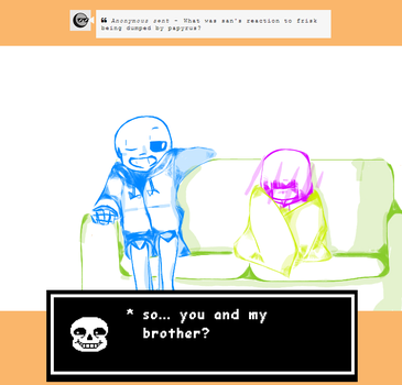 ASK 9 : JUST ADMIT IT SANS by mynekoheart