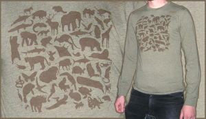 Diversity of Species - Shirt by scumbugg