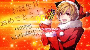 ~Happy Birthday 96Neko~~!!! by Kylie-Kagamine