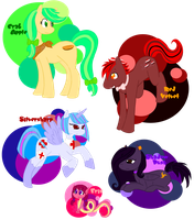MLP OCs by ShadowDemon101