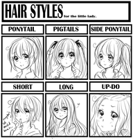 Hair Styles Meme by sasuke-chan95