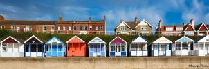 Southwold - Beach Huts by Okavanga