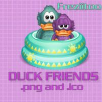 icons Duck friends by Freziitoo