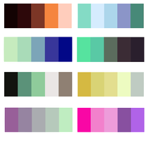 1 Color palette Adoptable CLOSED+Finished by KamiSai