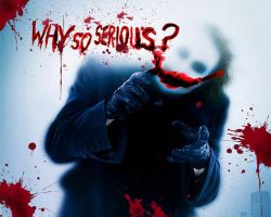 Why so Serious? The Joker. by vitoraws