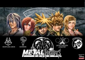 METAL HEARTS SOLID by Raltair
