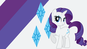 - Rarity Wallpaper - by Ponyphile