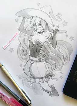 Little Witch by Clareesi