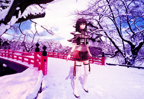 Snowy spring by RiStarr