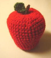 Amigurumi apple by audreydc1983