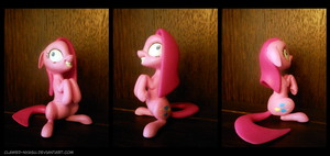Pinkamena 3D Printed Figure by Clawed-Nyasu