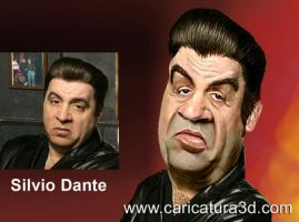 Sopranos 3d caricature by caricatura3d