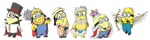Pixel Minions 1 by FeralSonic