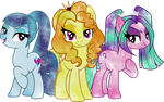 Galaxy Dazzlings by Digi-TheSaiyan