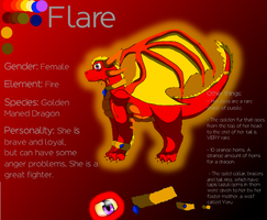 Flare Reference Sheet by SuperSonicFireDragon