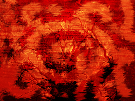 Background - Red Thorns by Kida-Ookami
