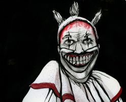Clown from American Horror Story by JarOfComics