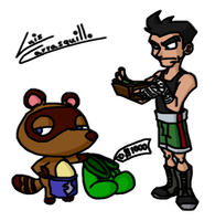 Nook Sells Mac His Own Gloves by Lwiis64