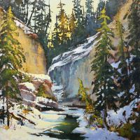 Johnston Canyon by artistwilder