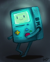 night light bmo by preciouslittletoasty
