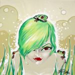 The Queen of the Frogs 2006 by avacreat