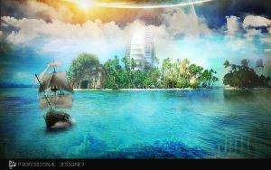 The Island by MrP3pC