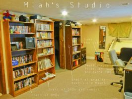 Miah's Studio 3 of 6 by JeremiahLambertArt