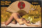 Pulp Pinup Series - PeepShow by jocachi