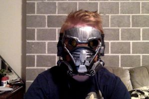 OD StarLord Cosplay and Hair-do by GingerBaribuu