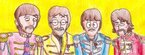 We're Sergeant Pepper's Lonely Hearts Club Band by kooPaTheTroopa8