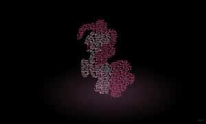 Pinkie Typography Wallpaper by ProNorst