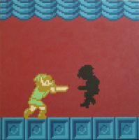 Link Vs Shadow by gfball84887