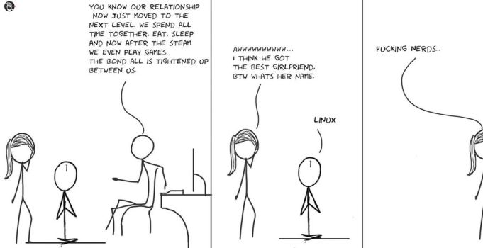 Linux is the best girlfriend by harshit1990