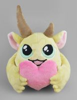 Penelope the Puff Monster Plush by SewDesuNe