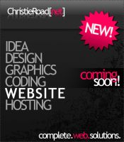 christie road designs promo by alexloony