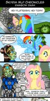 Skyrim MLP Chronicles - Rainbow Dash by AmayaMarieSuta