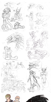 Sketch Dump-3 by Stitchy-Face