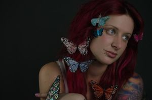 Butterfly by FoxxyStock