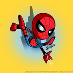 Crime-Fighting Spider by mporkyp