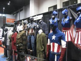 C2E2 2012: Captain America Display by Blackout-Resonance