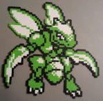 Scyther Perler by DuctileCreations