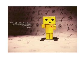 My Real Danbo by lovewhizkidz