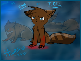 ::Heart as COLD as ICE:: (Hawkfrost | FA) by Fluffuu