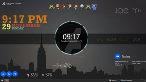 My Rainmeter Desktop (Screenshot) by ZaaZae820000