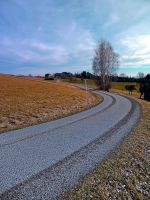 Country road into far distance by patrickjobst