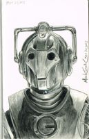 Cybermen sketch by NickMockoviak