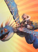 How To Train Your Dragon 2 Astrid by PsychicNomad