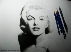 Marilyn Monroe by Finihous